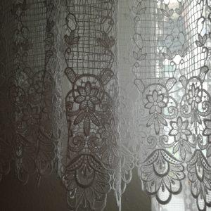 Záclona krajková