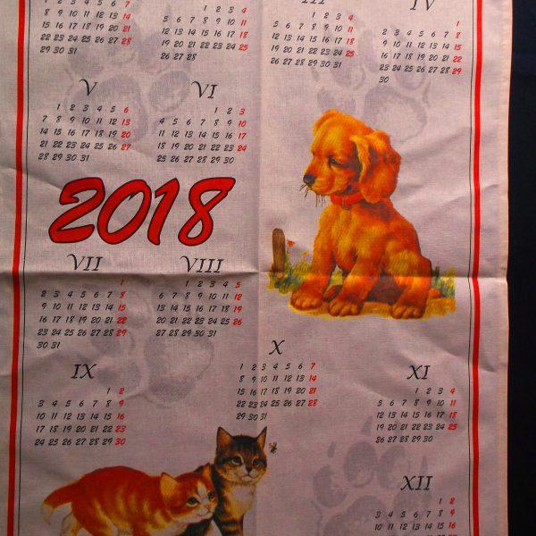Kalendár Mačka -Pes E
