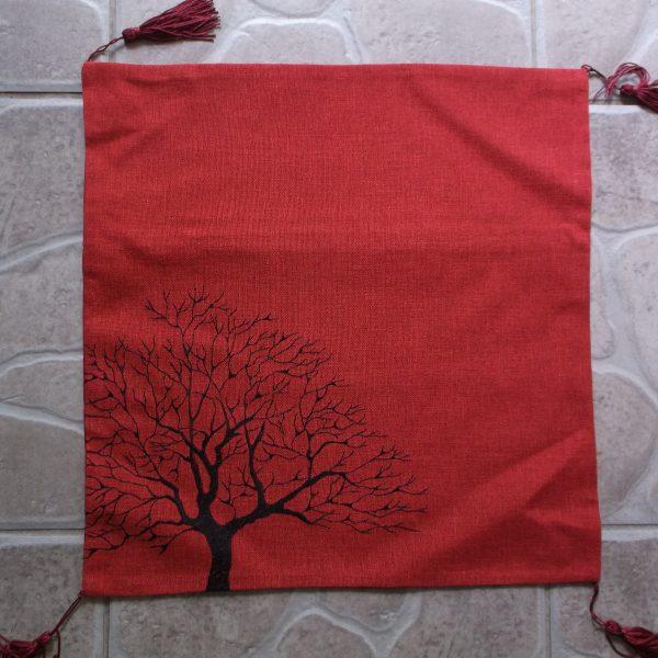 Obliečka STROM červená (1)