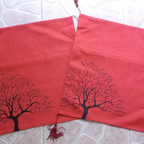 Obliečka STROM červená (2)